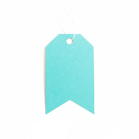 GIFT TAGS - AQUAMARINE