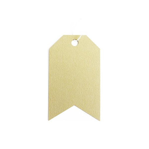 GIFT TAGS - CHAMPAGNE GOLD