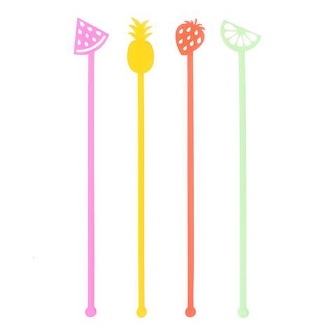 SWIZZLE STICKS - FRUIT MIX
