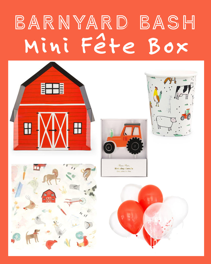 BARNYARD BASH MINI FÊTE BOX