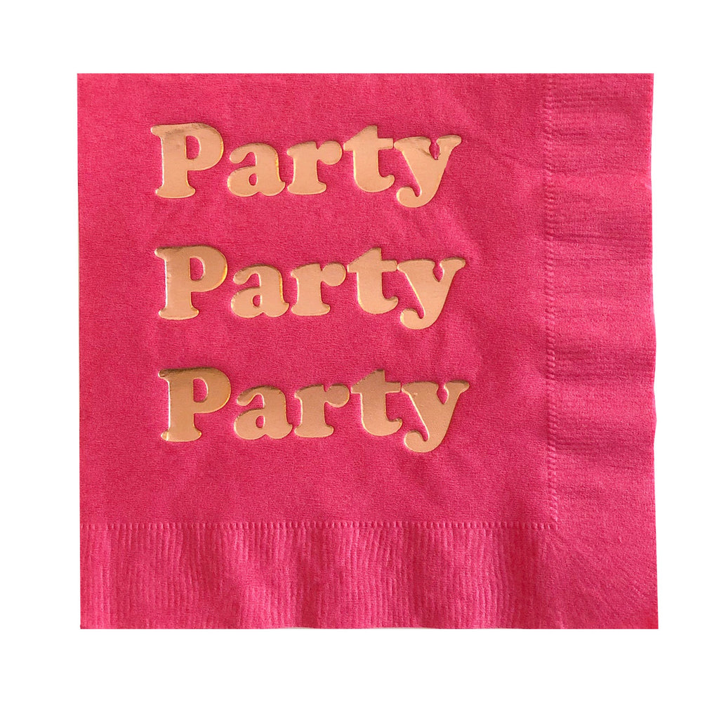 PARTY FOIL LARGE NAPKINS