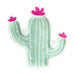 Cactus shaped party plates