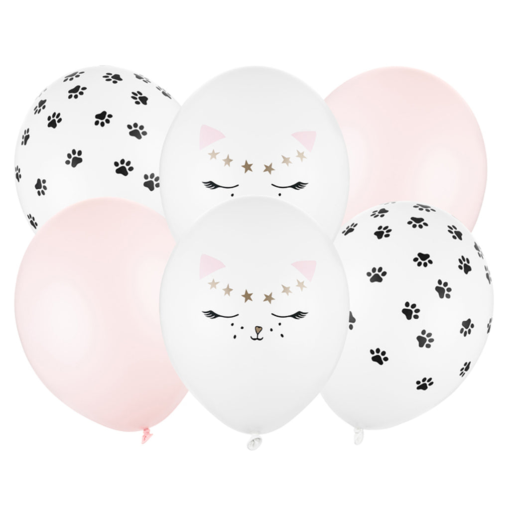 PINK KITTY CAT BALLOON BUNDLE