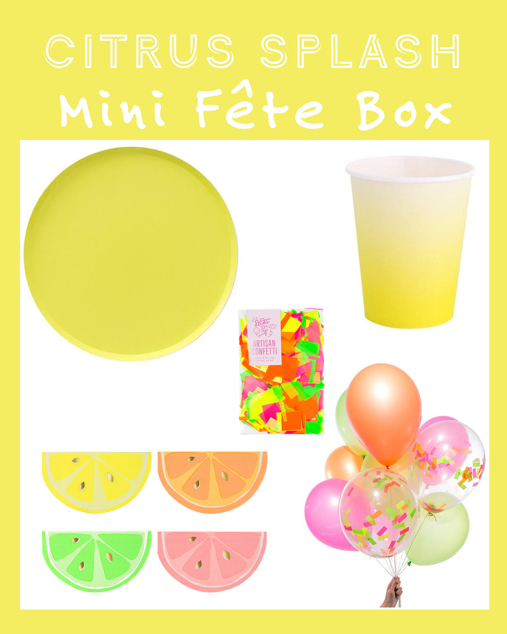 CITRUS SPLASH MINI FÊTE BOX