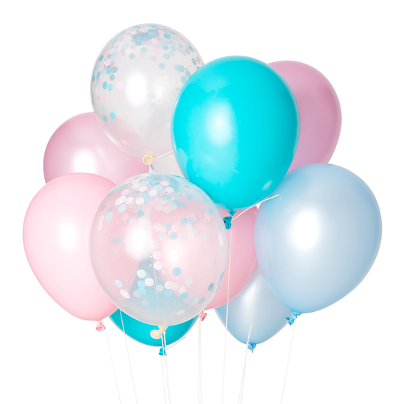 PARTY BALLOONS - COTTON CANDY CLASSIC