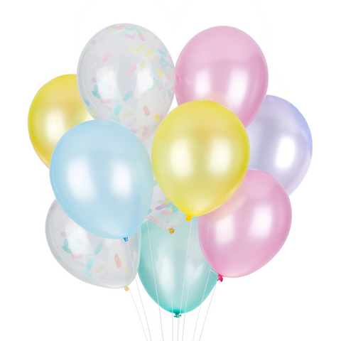 PARTY BALLOONS - CUPCAKE CLASSIC