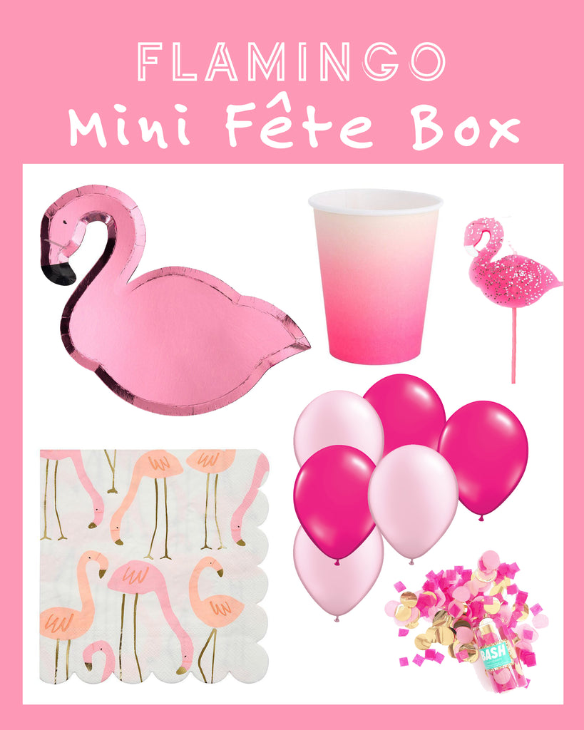 FLAMINGO MINI FÊTE BOX