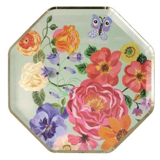FLORA LUNCHEON PLATES