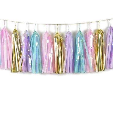 TASSEL GARLAND - SHIMMERY MERMAID