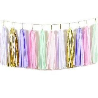 TASSEL GARLAND - GOLD UNICORN