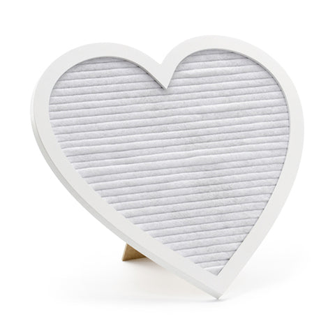 HEART SHAPED LETTER BOARD
