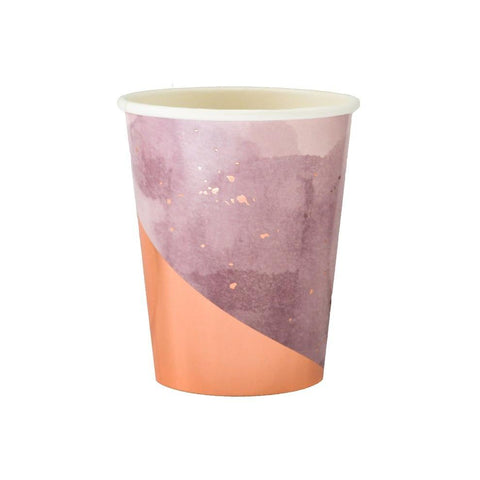 AMETHYST PURPLE WATERCOLOUR CUPS