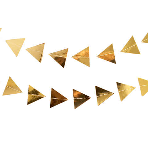 GARLAND - GOLD TRIANGLES