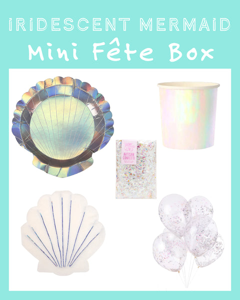 IRIDESCENT MERMAID MINI FÊTE BOX
