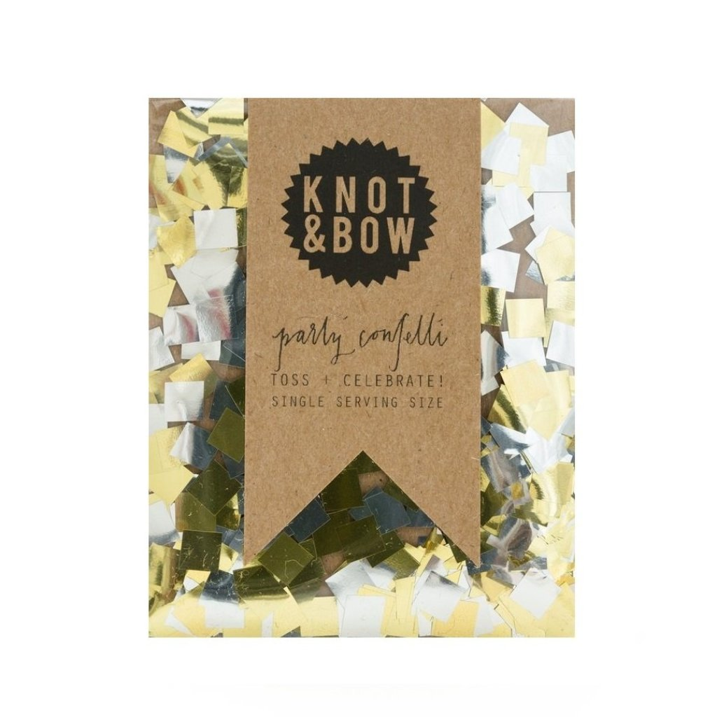 SINGLE SERVING SIZE GOLD SILVER CONFETTI