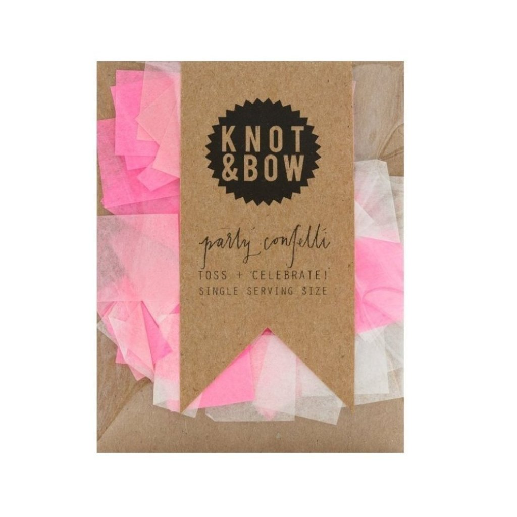 SINGLE SERVING SIZE PINK MIX CONFETTI