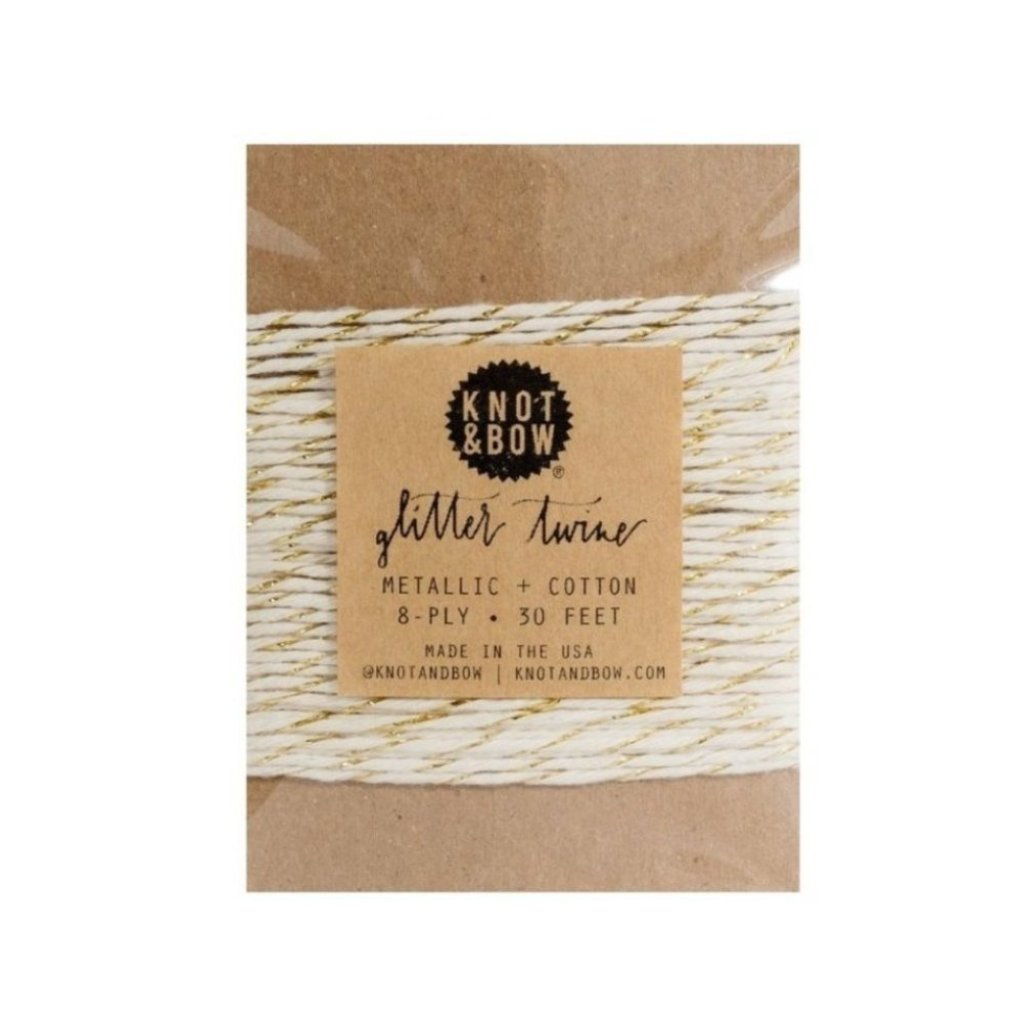 TWINE - GOLD/NATURAL TWINE CARD