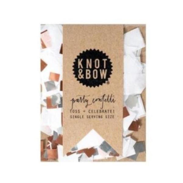 SINGLE SERVING SIZE WHITE COPPER CONFETTI