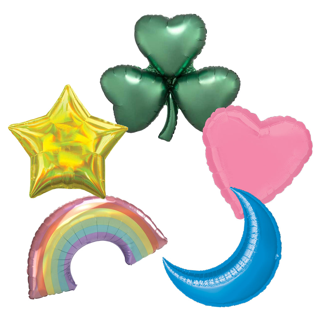 LUCKY CHARM FOIL BALLOON BUNDLE