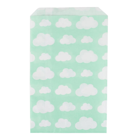 Cloud print treat bags