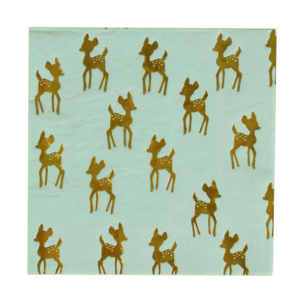 GOLDEN FAWN LARGE NAPKINS