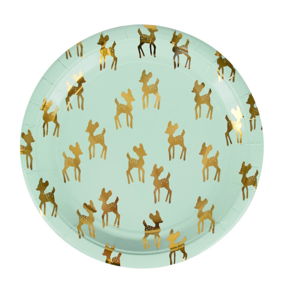 GOLDEN FAWN LARGE PLATES