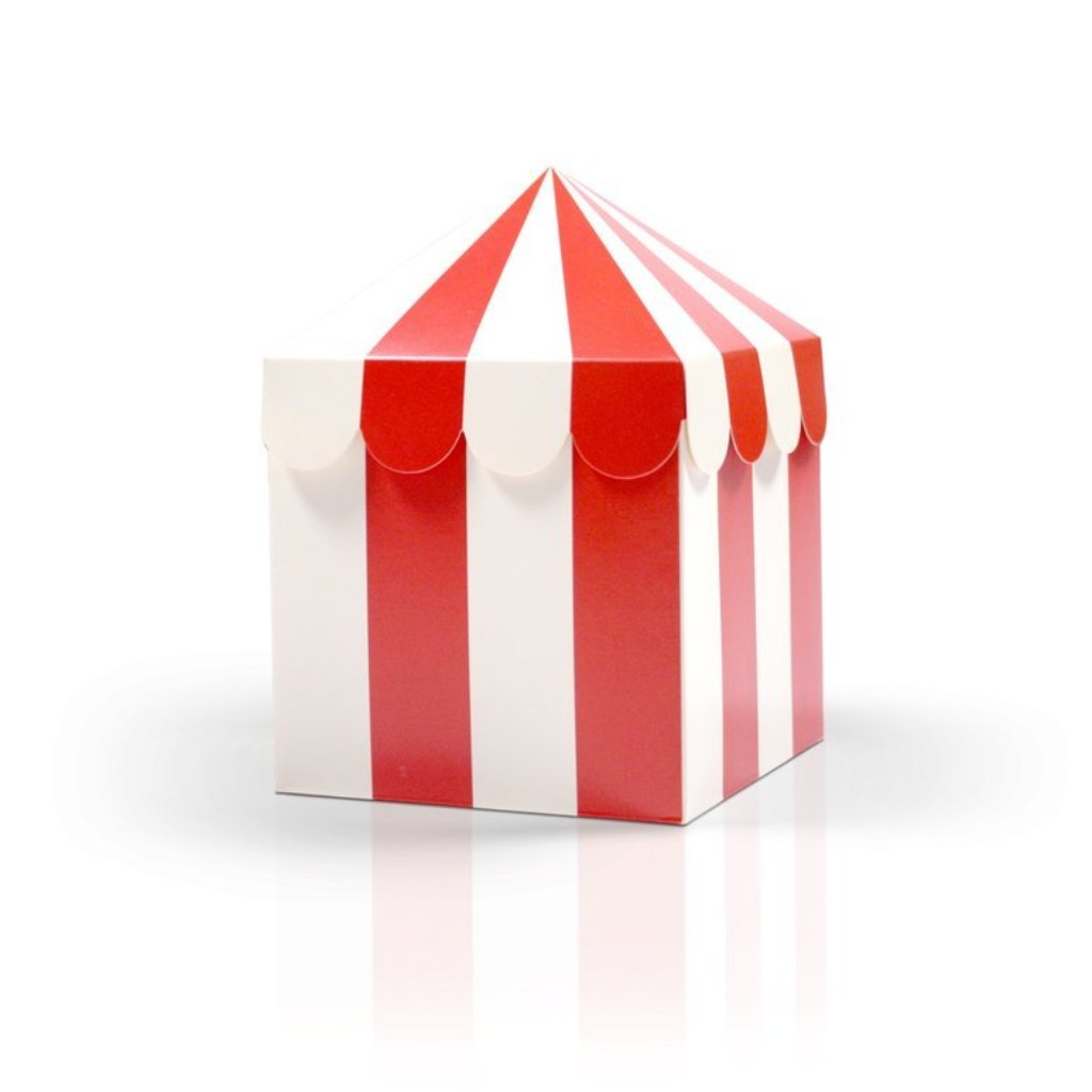 FAVOUR BOXES - CIRCUS TENT