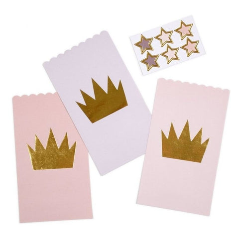 Princess Crown Party Favor Bag