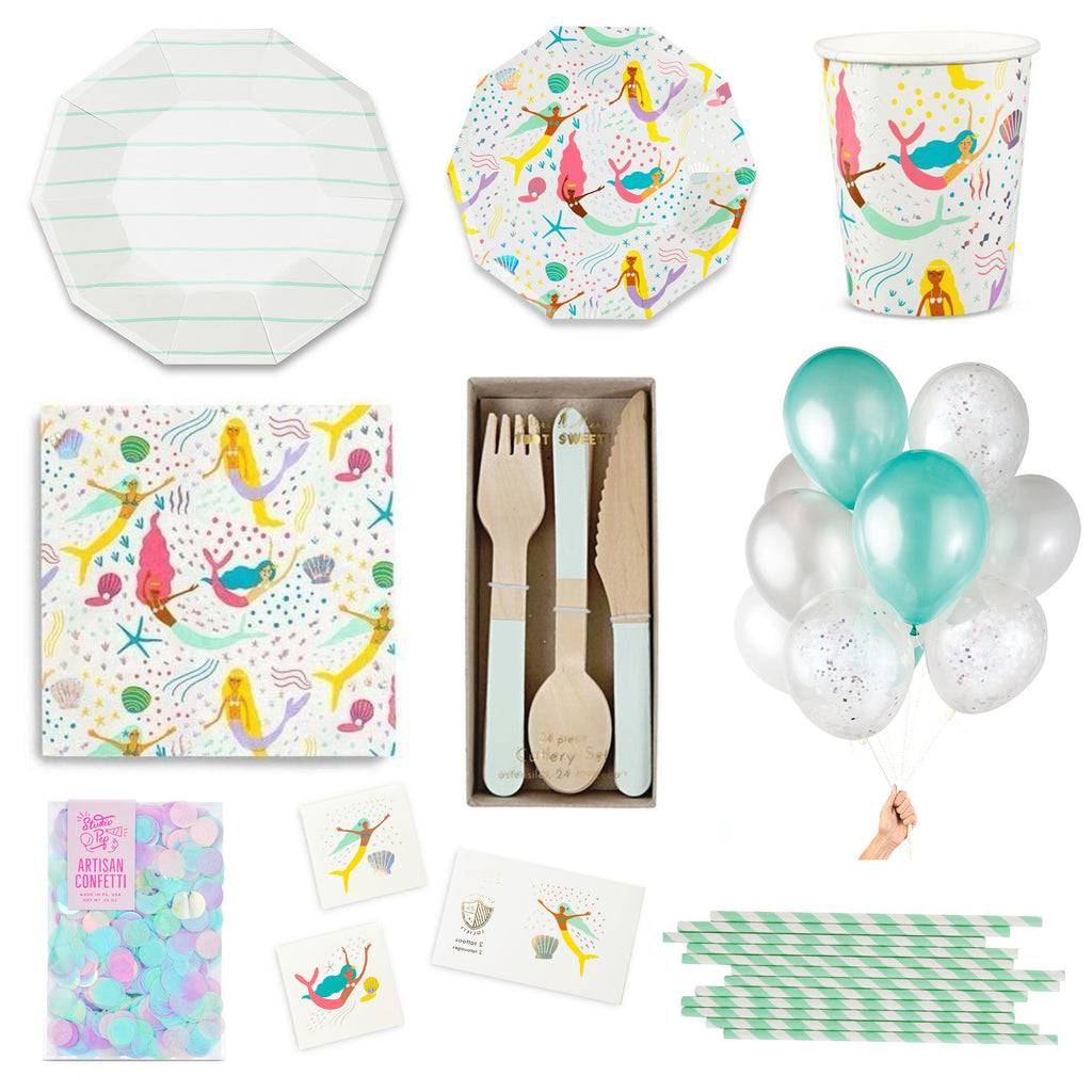 MAGICAL MERMAIDS PARTY BOX FOR 8
