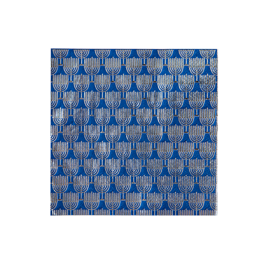 MENORAH COCKTAIL NAPKINS