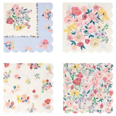 ENGLISH GARDEN LARGE NAPKINS