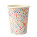 Magical princess floral party cups