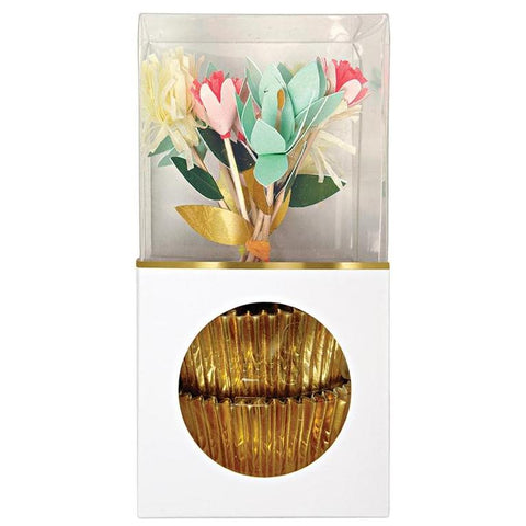 CUPCAKE KIT - FLOWER BOUQUET