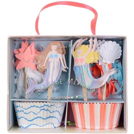 CUPCAKE KIT - LET'S BE MERMAIDS
