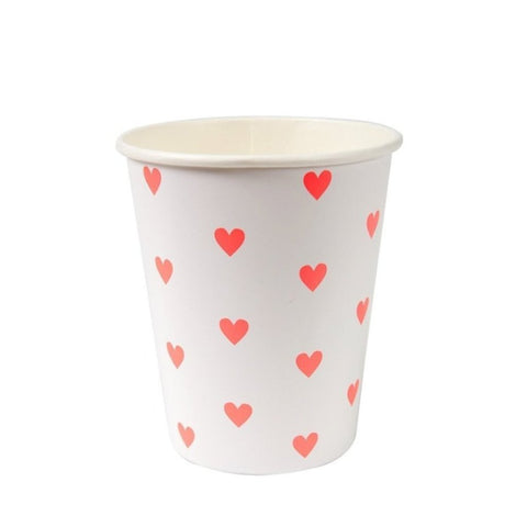 HEART PATTERN CUPS