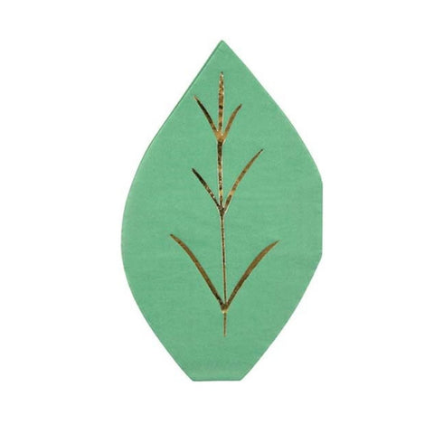 GARDEN LEAF DIE CUT LARGE NAPKINS