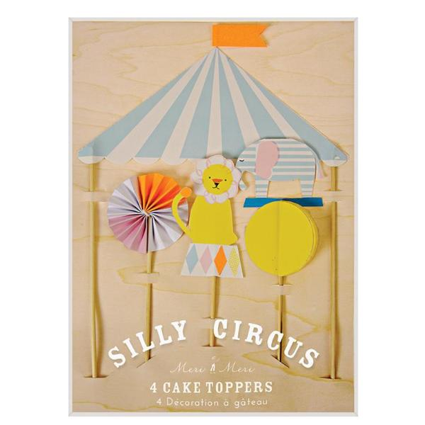 CAKE TOPPER - SILLY CIRCUS