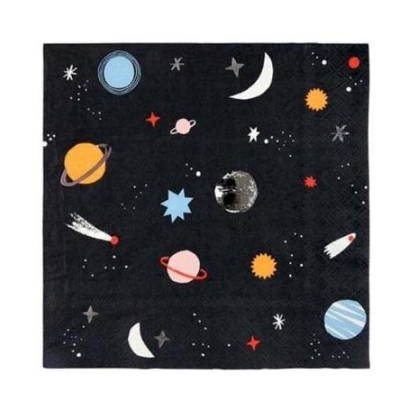 OUTERSPACE LARGE NAPKINS
