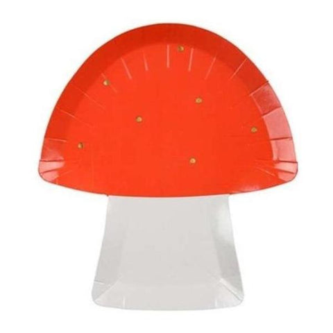 FAIRY TOADSTOOL DIE CUT LARGE PLATES