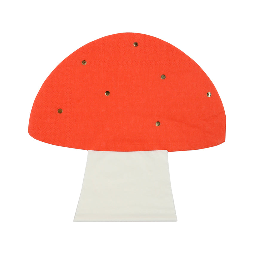 FAIRY TOADSTOOL DIE CUT NAPKINS