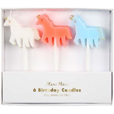 CANDLES - UNICORNS SET
