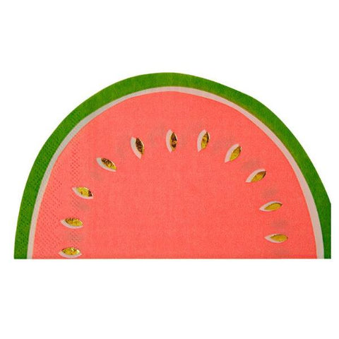WATERMELON DIE CUT LARGE NAPKINS