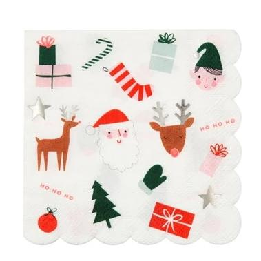 CHRISTMAS FUN LARGE NAPKINS