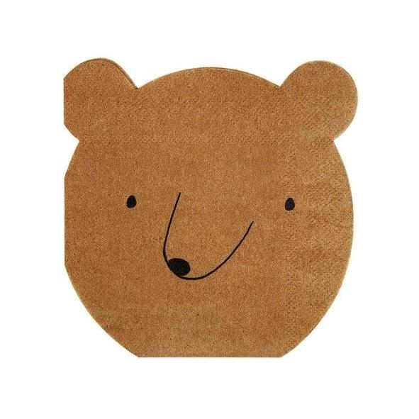 BEAR SMALL NAPKIN