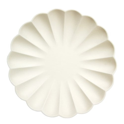 CREAM SIMPLY ECO LARGE PLATES