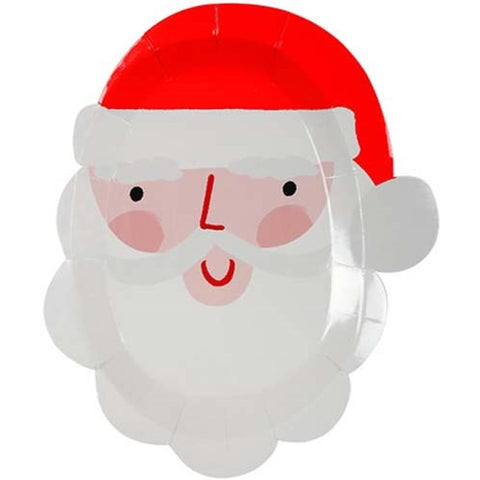 SANTA HEAD DIE CUT PLATES