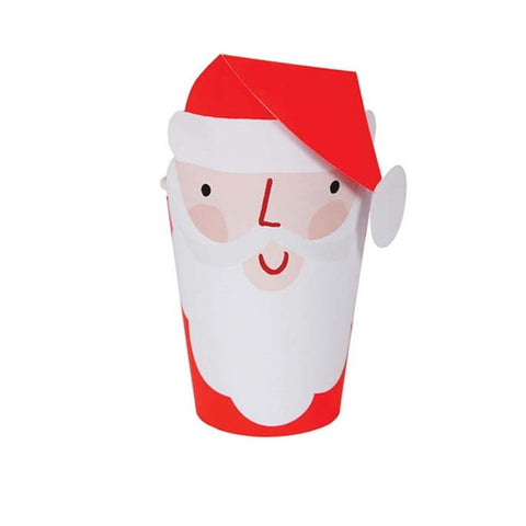 SANTA WRAPPED CUPS