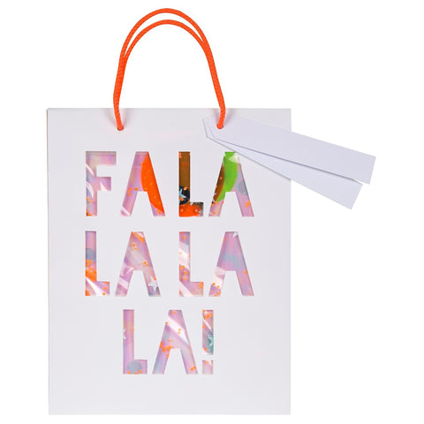 FA LA LA LA LA SHAKER MEDIUM BAG - SET OF 2