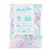 Mermaid lilac , blue and pink Tissue and Iridescent confetti