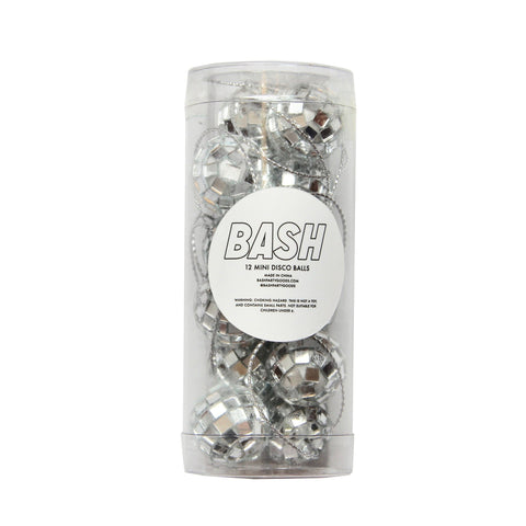 MINI DISCO BALLS - SET OF 12